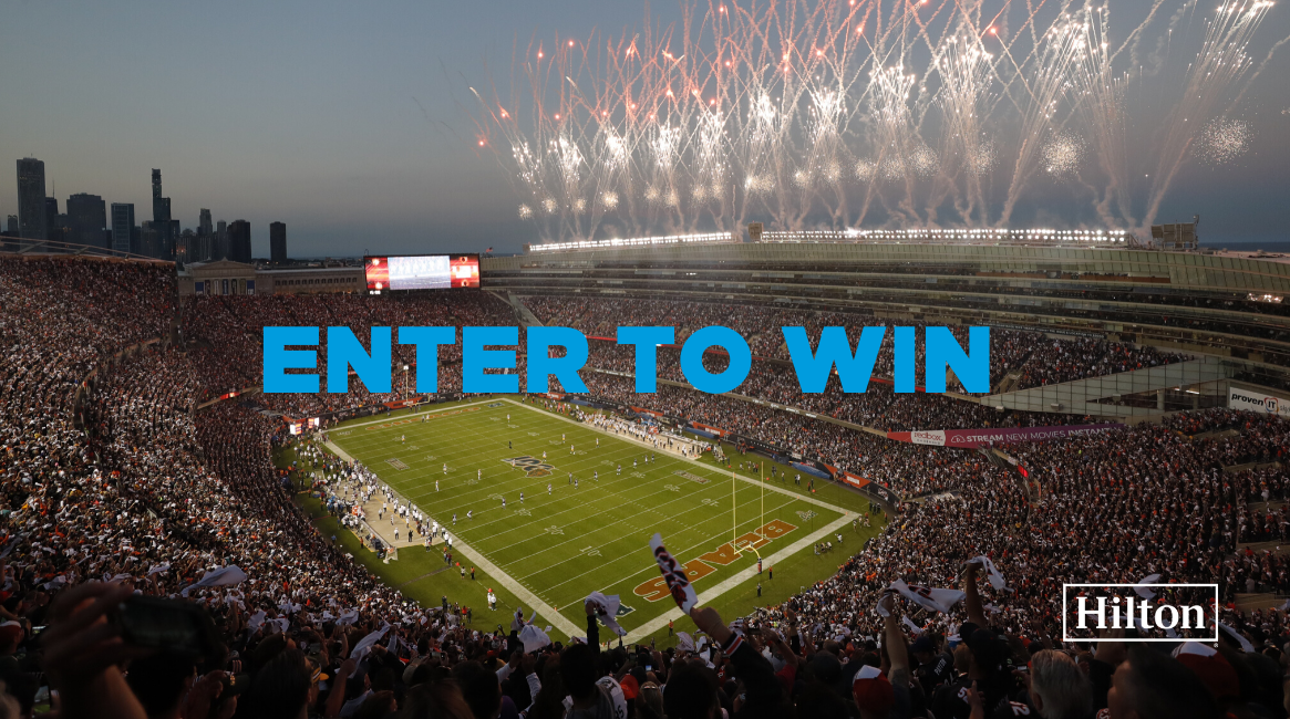 Win a Gameday Experience on December 22