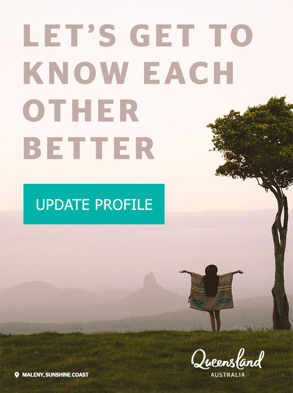 Lets get to know each other better - Update profile