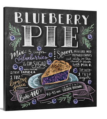 Blueberry Pie by Lily and Val