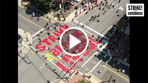 Strike for Black Lives livestream.