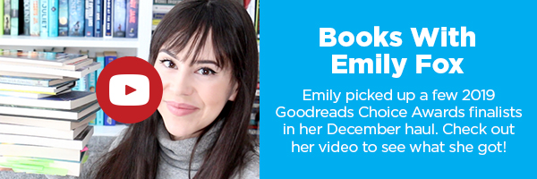 See all the amazing books Emily hauled in December!