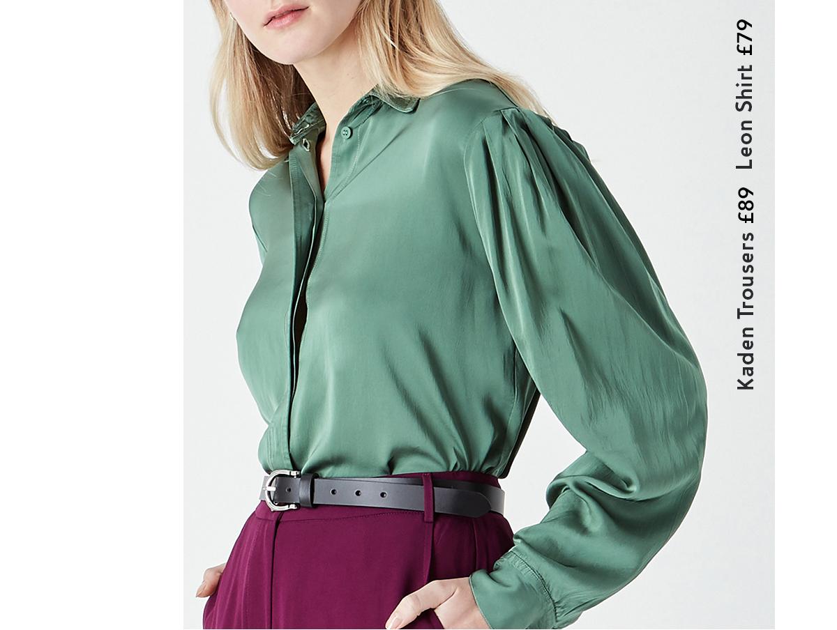 Kaden Trousers, Leon Shirt