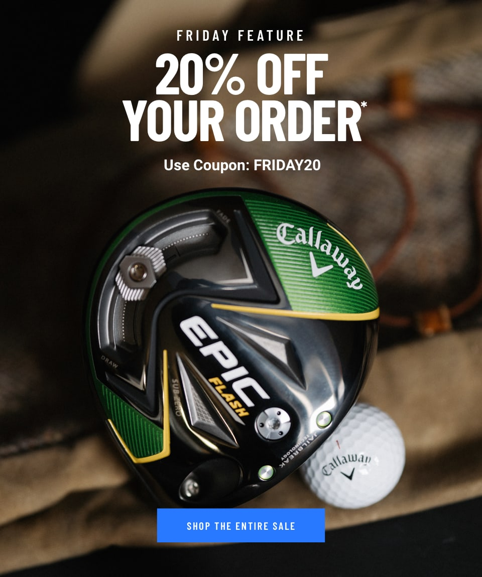 20% Off Your Order. Use Coupon: FRIDAY20. Shop Now!