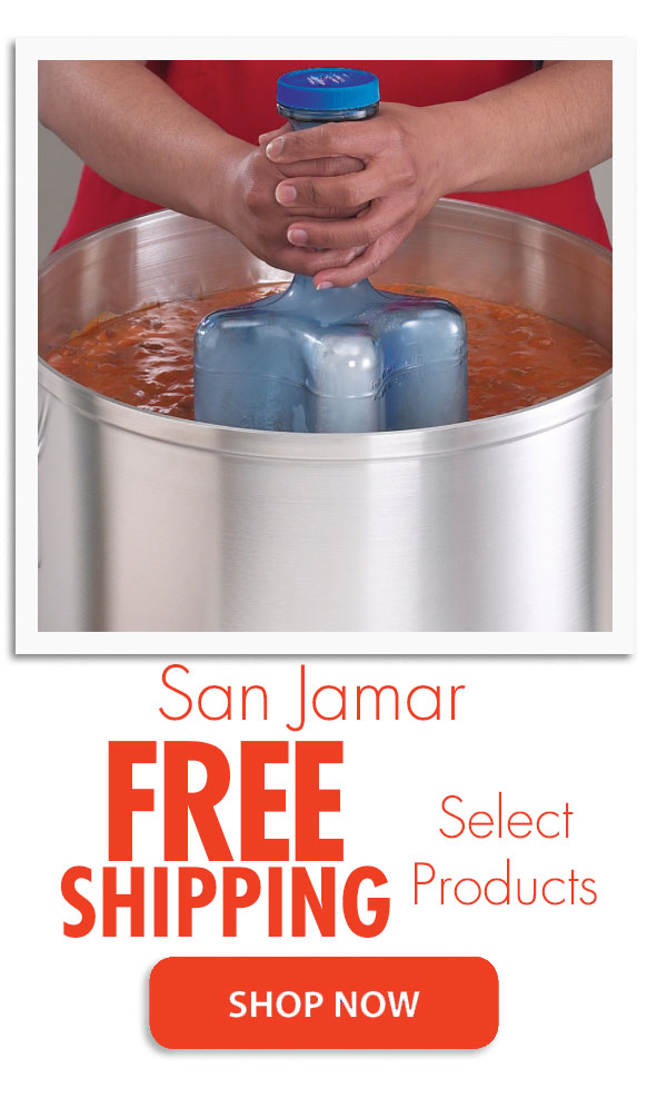 San Jamar Sale -- Free Shipping on Select Products