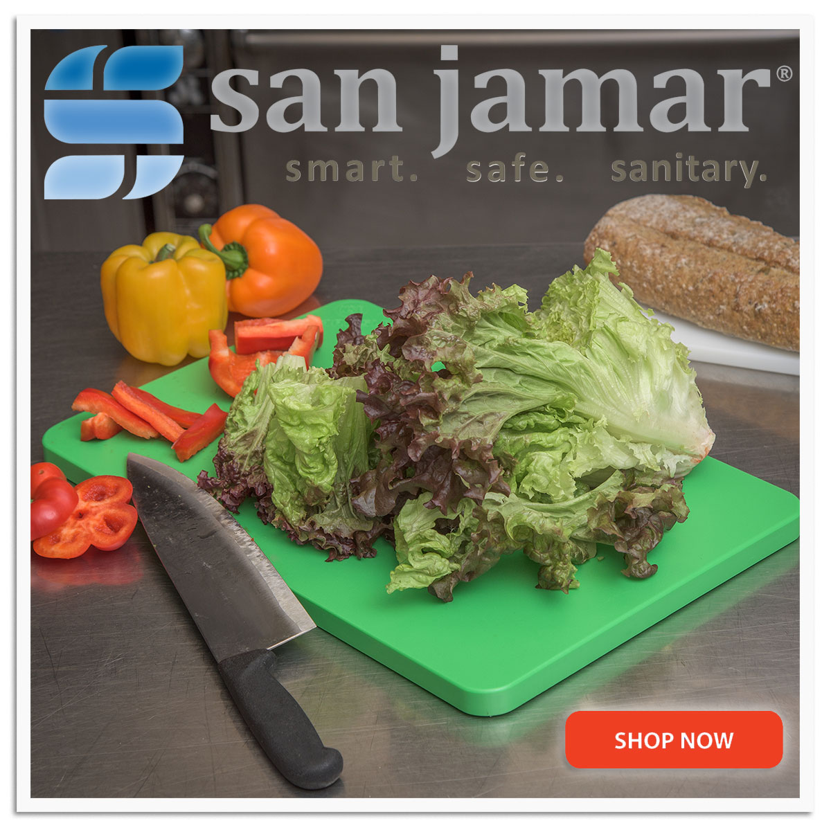 San Jamar''s efforts focus on food and personal safety, counter service and washroom products.