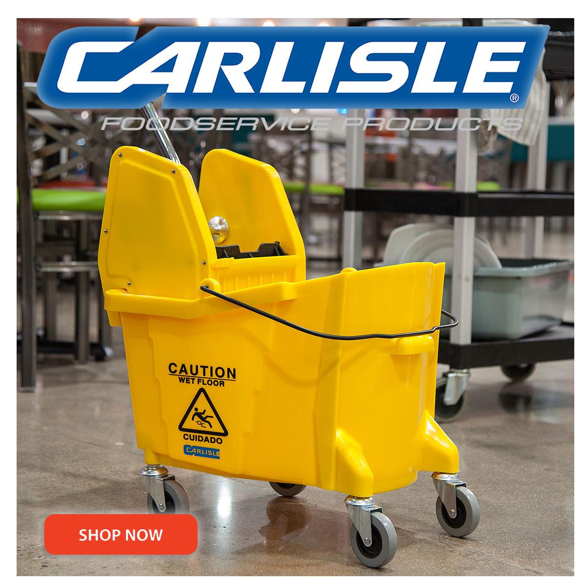 Carlisle is the leading manufacturer in plastic dinnerware, drinkware, and sanitation.