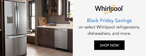 Black Friday Savings with Whirlpool