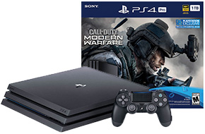 Shop Sony PlayStation 4 Pro 1TB Call of Duty: Modern Warfare Bundle