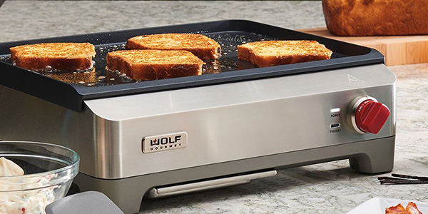 Shop Wolf Gourmet Stainless Steel Precision Griddle