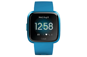Shop Fitbit Versa Lite Edition Marina Blue Smartwatch
