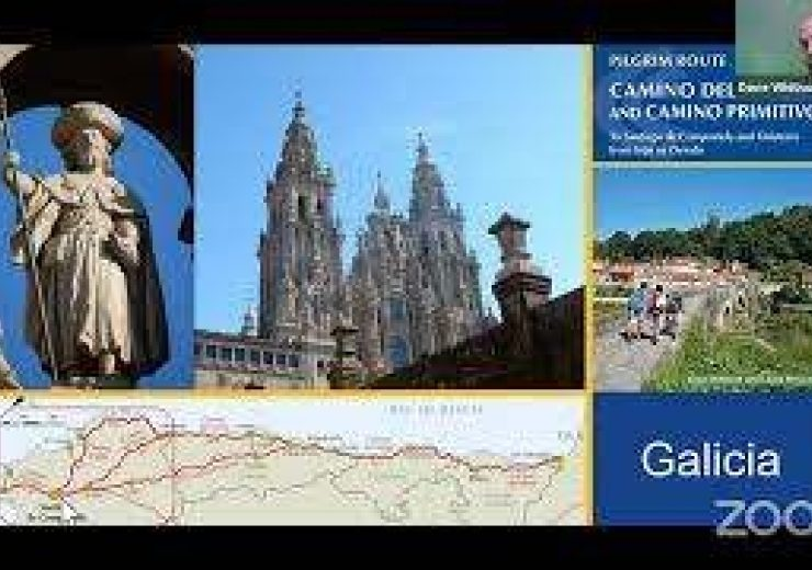 Live video: Sandy Brown and Dave Whitson talk about the Camino del Norte pilgrimage