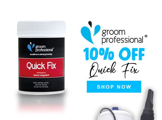 10% Off Groom Professional Quick Fix