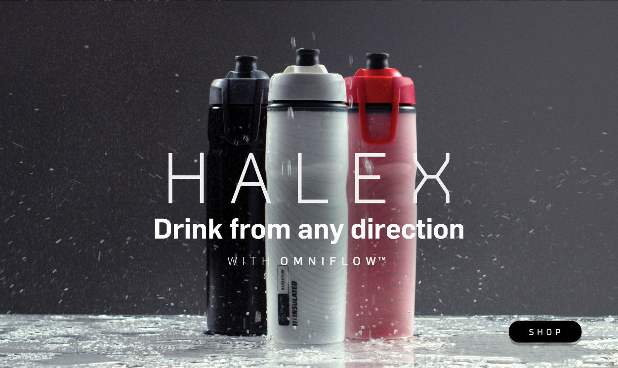 Halex Squeeze Botte - Drink From Any Direction