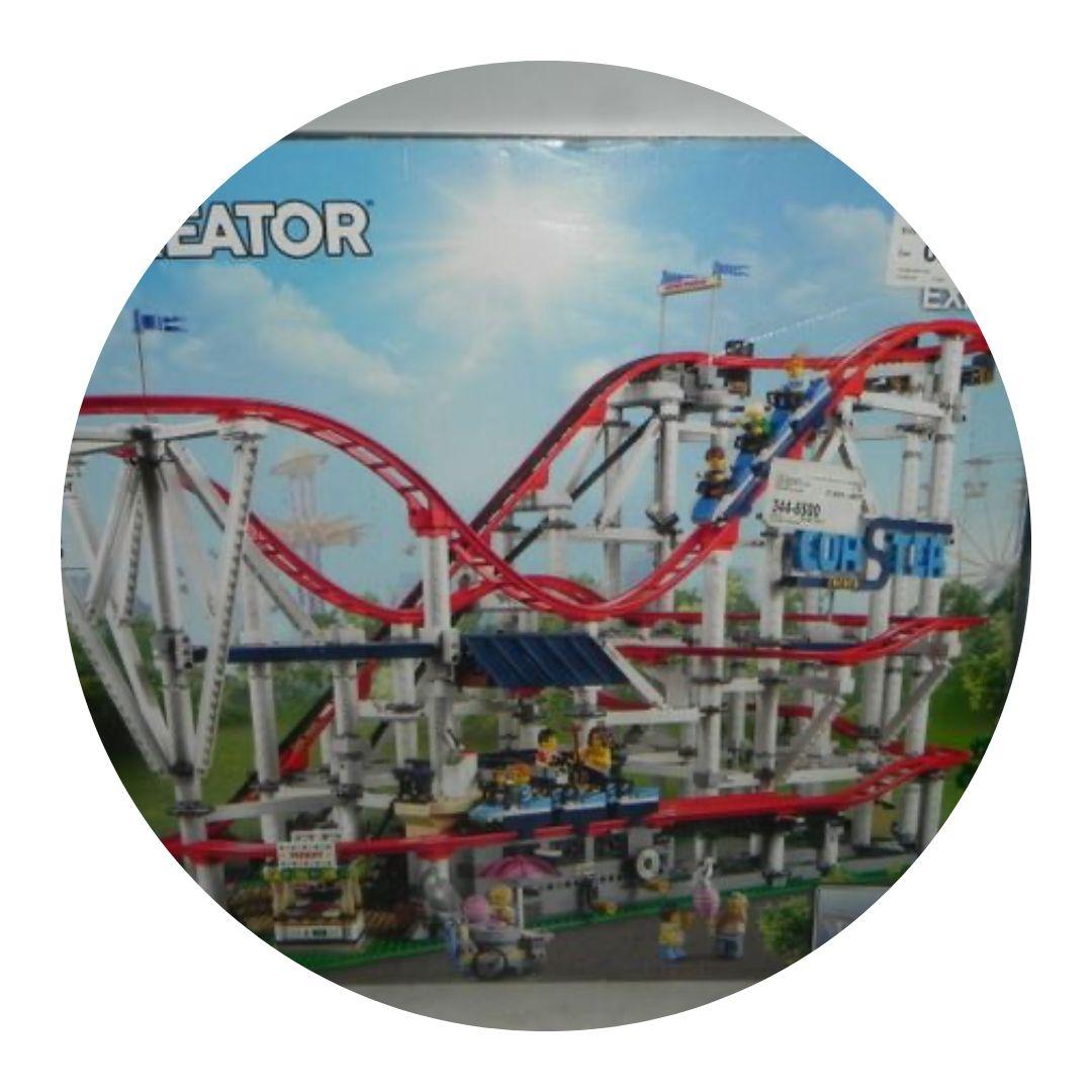 Lego Creator Roller Coaster 10261 -open Box