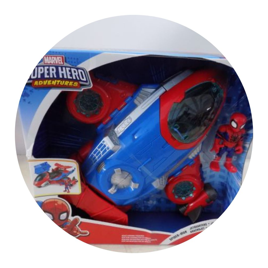 Marvel Superhero Adventures Spiderman Jet Quarters