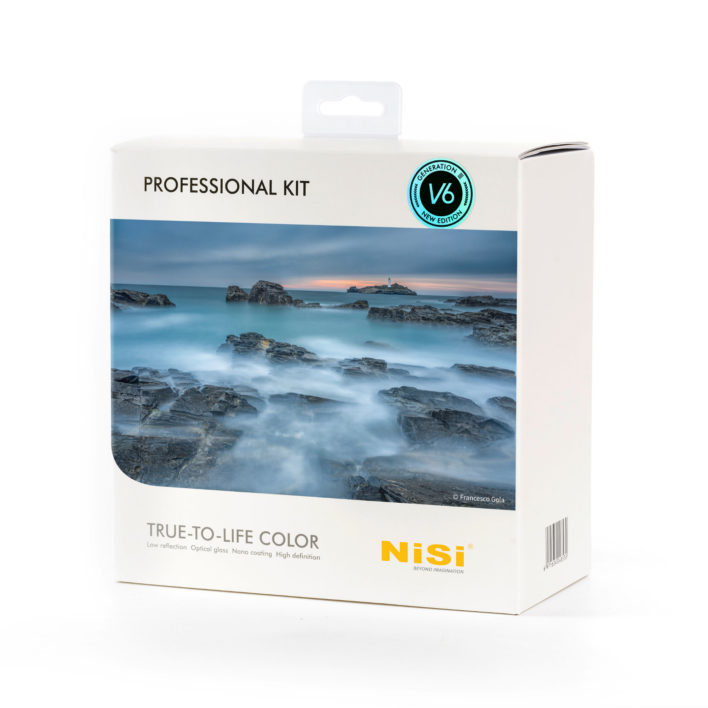 NiSi 100mm Professional Kit Third Generation III with V6 and Landscape CPL