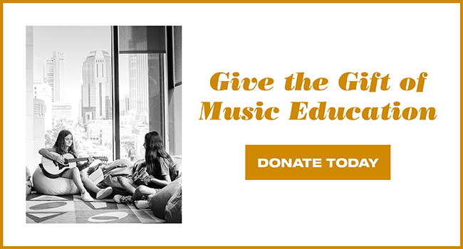 It's Giving Tuesday | Give the Gift of Music Education | Donate Today