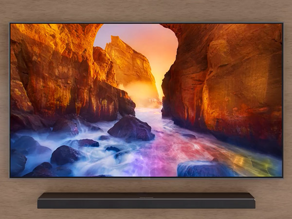 Samsung Q90R 65 Carbon Silver QLED 4K UHD Smart HDTV