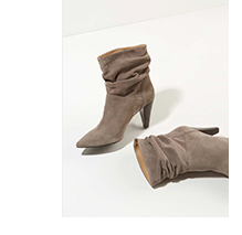 Mary-Ann Taupe Suede Boots