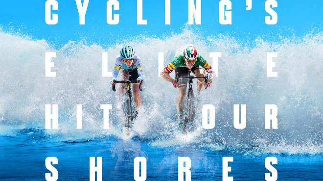 Cycling's elite hit our shores