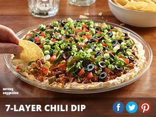 7 Layer Chili Dip