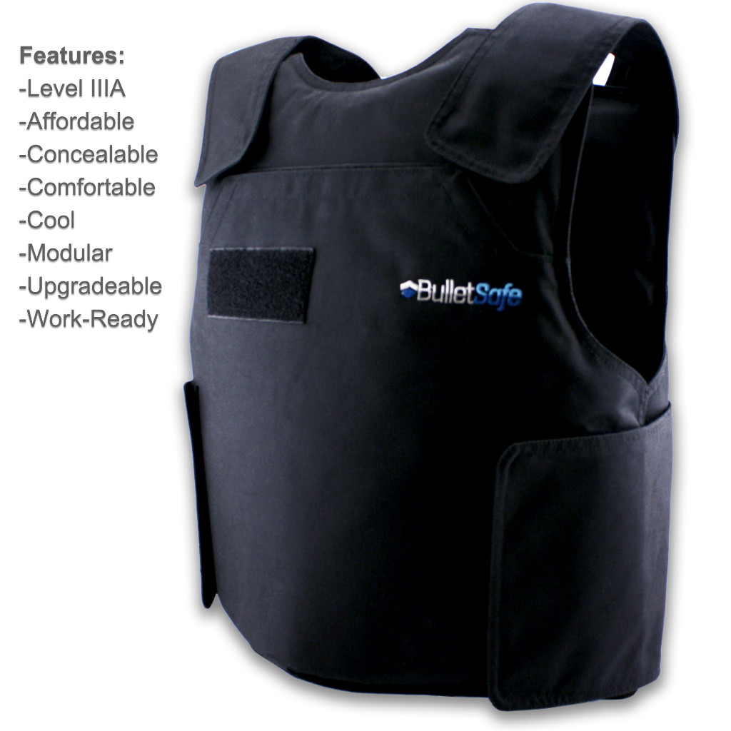 The BulletSafe Bulletproof Vest - Level IIIA just $299