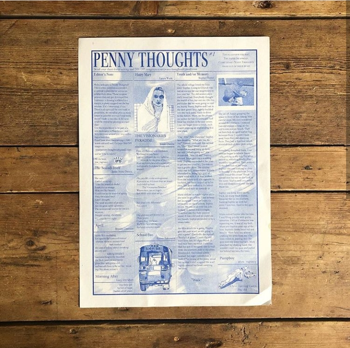 OPEN CALL: Penny Thoughts (Arts Publication)
