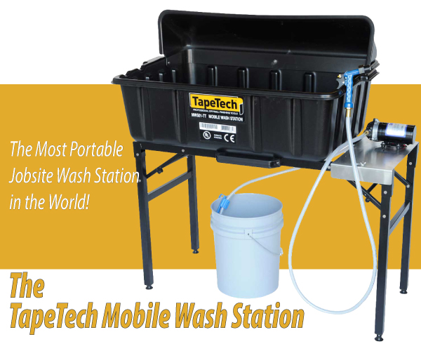 TapeTech Mobile Wash Station