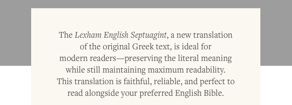 A new translation of the original Greek text, is ideal for modern readers