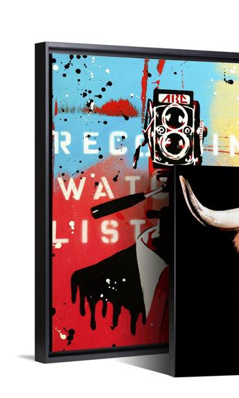 NSA Camera Man by ABC Art Attack