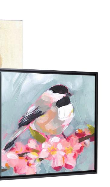 Brushstroke Bird II by Jennifer Paxton Parker