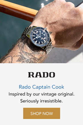 Rado Captain Cook