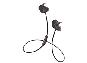 Shop Bose Black SoundSport Wireless In-Ear Headphones