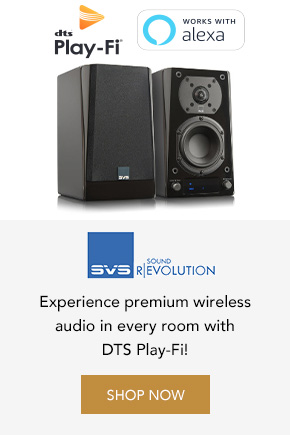 Experience premium wireless audio with SVS