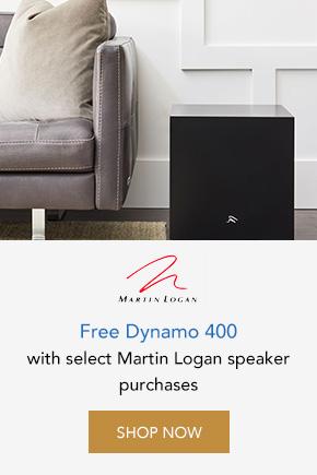 Free Dynamo 400 with Martin Logan