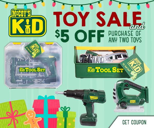 Snag McCoy's Kids tools at a great discount.