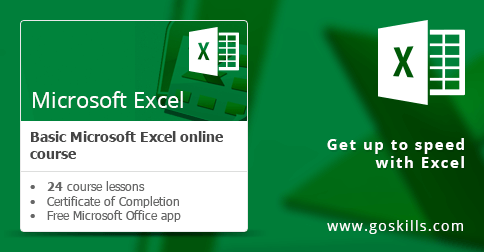 Microsoft Excel - Basic Course