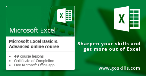 Microsoft Excel - Basic & Advanced Course