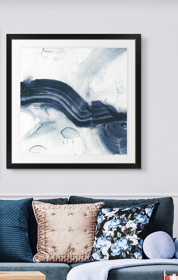 Ribbon Horizon I by Jennifer Goldberger