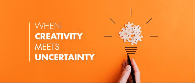 When Creativity Meets Uncertainty