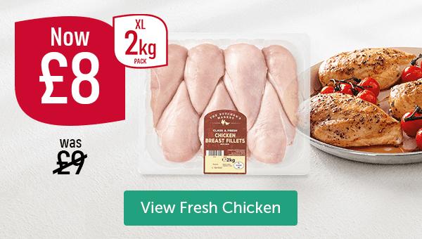 Chicken Breast Fillets 2kg Pack XL Now �Was �View Fresh Chicken