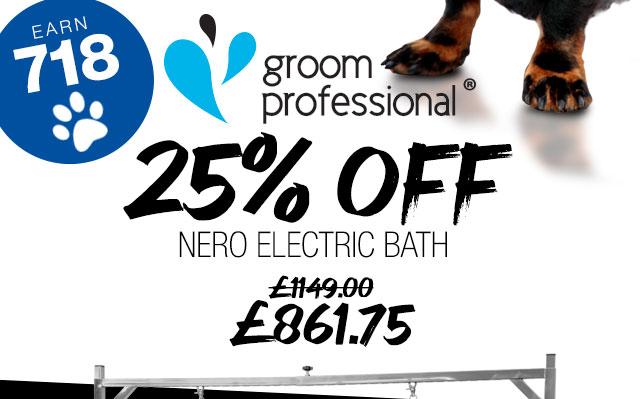 25% Off GP Nero Electric Bath