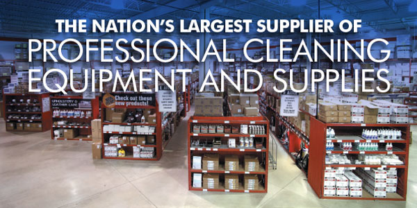 The nations largest supplier of professional cleaning equipment and supplies
