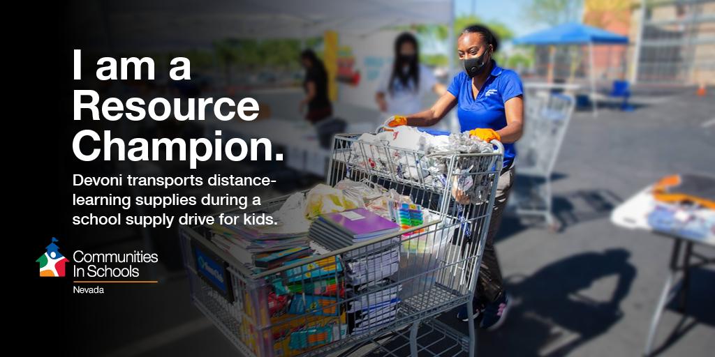 Devoni CIS Site Coordinator Delivering School Supplies - Click to Download