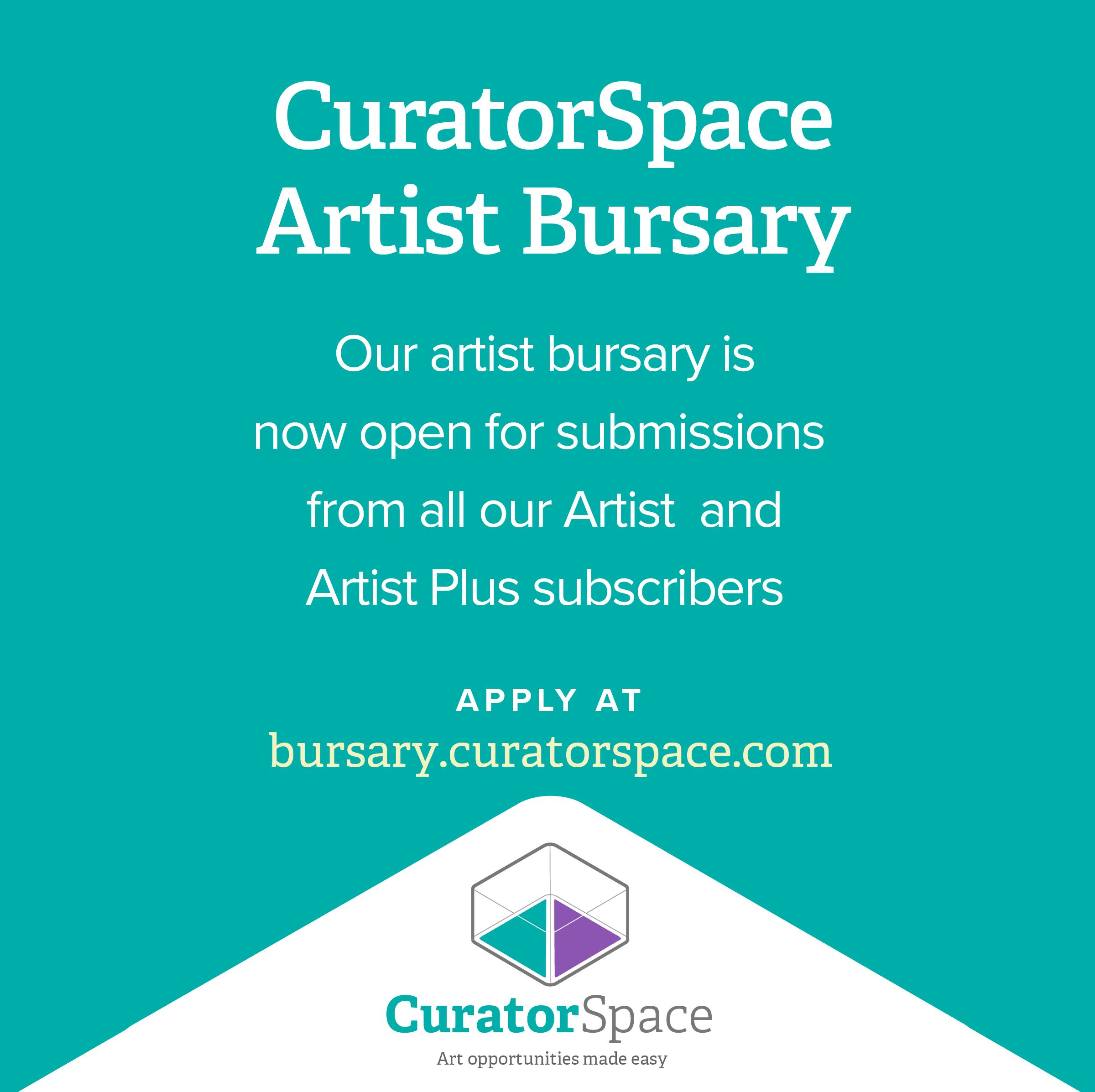 CuratorSpace Artist Bursary #7