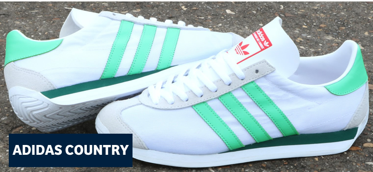 Adidas Country White Green