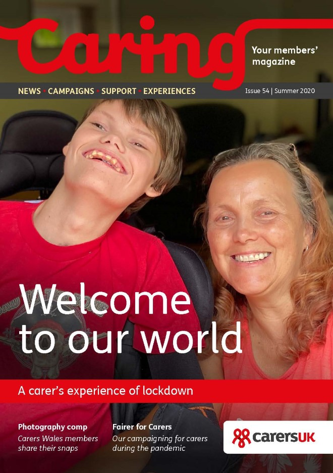 Caring Magazine image