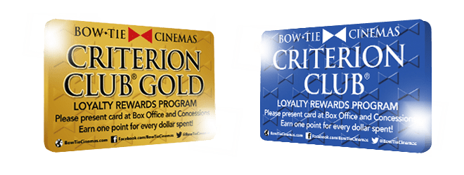 Criterion Club Gold Member