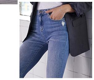 Houston Pale Indigo Slim Jeans