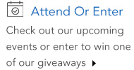 Attend an event or enter a giveaway